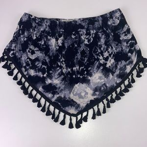 La Hearts I Tie Dyed Tube Crop Small